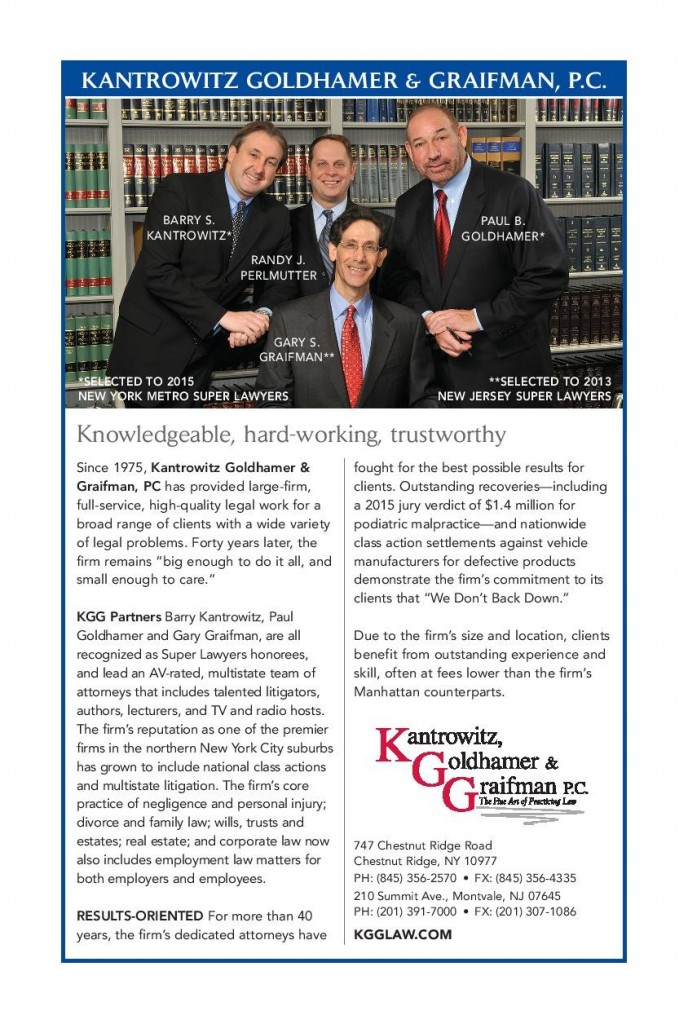 Infographic:Kantrowitz, Goldhamer & Graifman, P.C. - Knowledgeable, hard-working, trustworthy